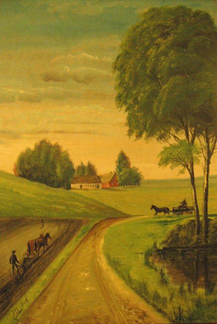 Maleri af jørgen dinnesen 1908 jørgen dinnesen er lars